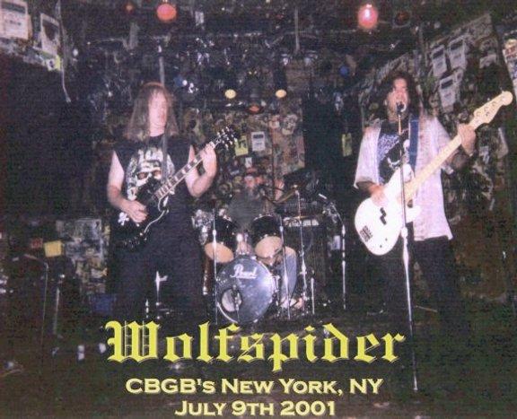 Wolf-Spider! at CBGB